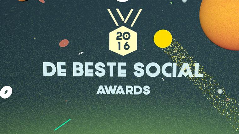 DE BESTE SOCIAL AWARDS 2016